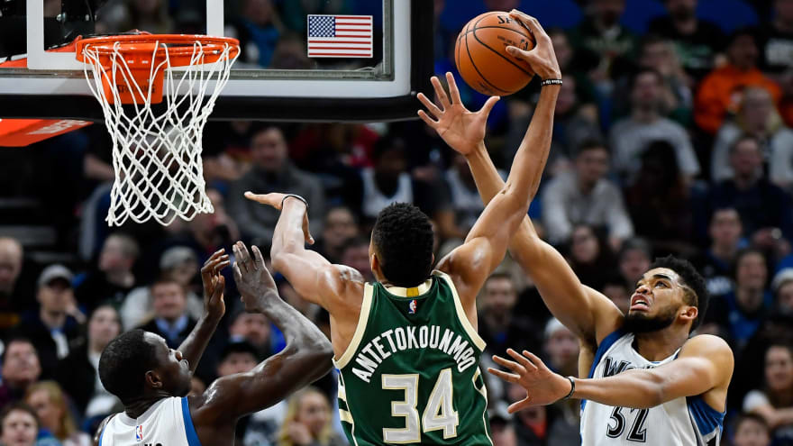 Karl-Anthony Towns shares how much Giannis Antetokounmpo has tried to help him
