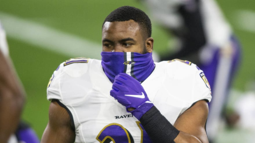 Mark Ingram bids farewell to Ravens organization