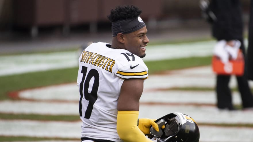 JuJu Smith-Schuster wants to stay with Steelers