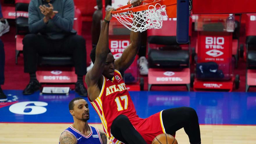 Hawks' Okongwu out six months after shoulder surgery