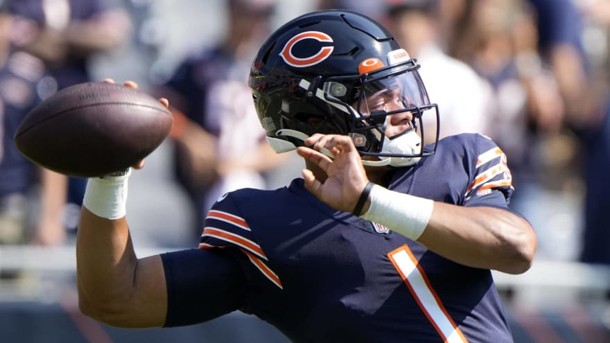 Justin Fields to start for Bears in Week 3 against Browns