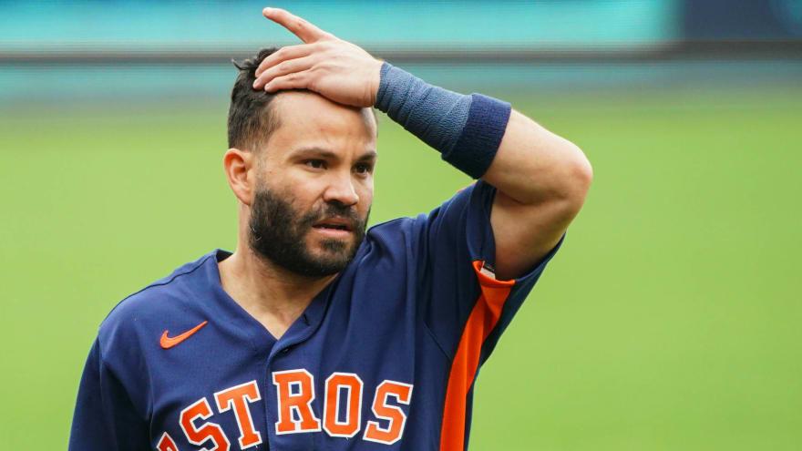 Astros' Altuve asks for demotion in lineup amid struggles