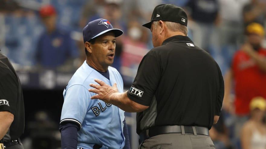 MLB suspends Blue Jays' Ryan Borucki, Charlie Montoyo