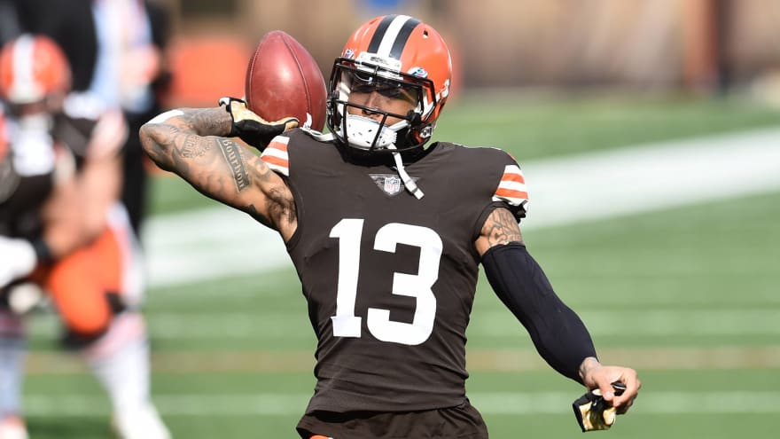 Browns' Odell Beckham Jr. passes physical, not on PUP list