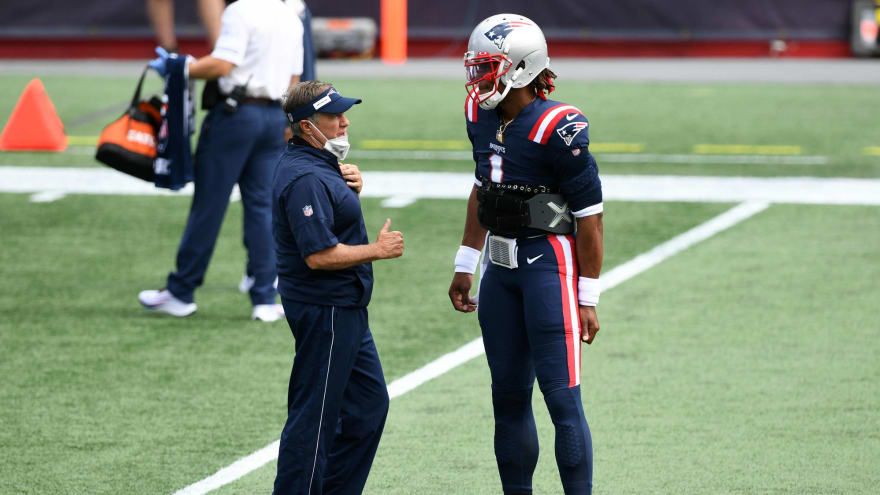 Belichick 'partial' to Newton, favors him to start for Patriots