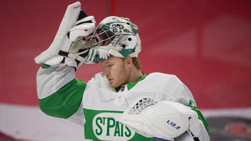 Maple Leafs activate goalie Frederik Andersen off long-term injured reserve