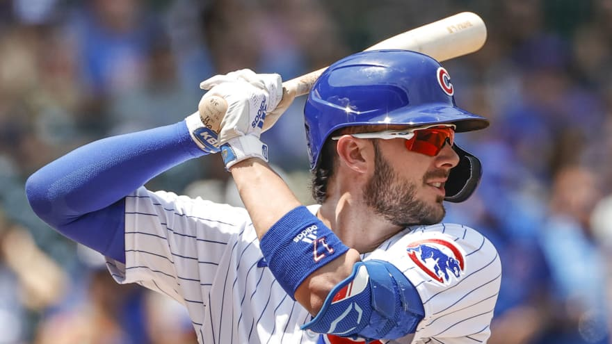 Cubs, Giants have reportedly discussed Kris Bryant trade
