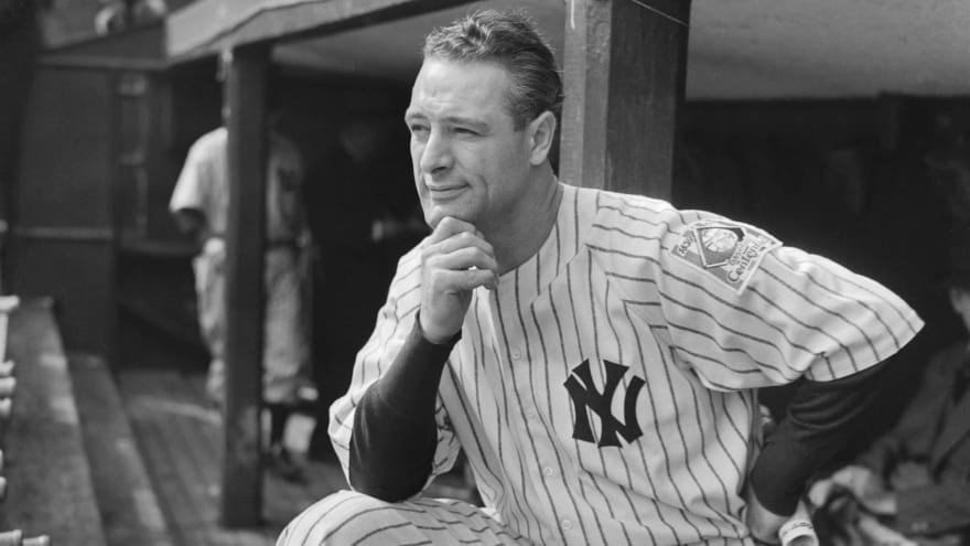 MLB announces plans for annual Lou Gehrig Day