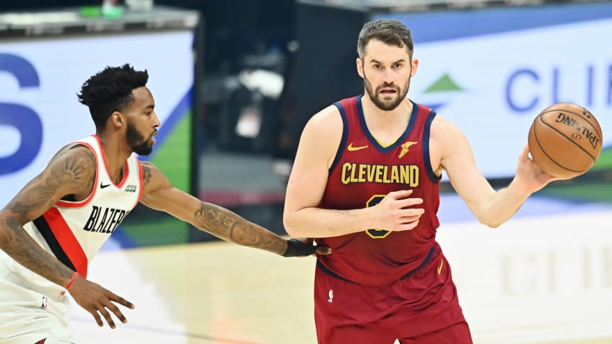 Kevin Love hoping Olympics lead to trade from Cavaliers?