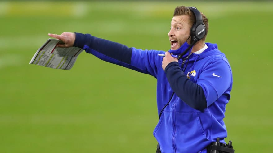 Sean McVay 'excited' about collaborating with Matthew Stafford