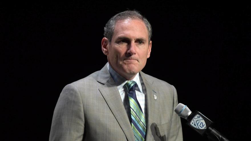 Pac-12 commissioner Larry Scott tests positive for coronavirus