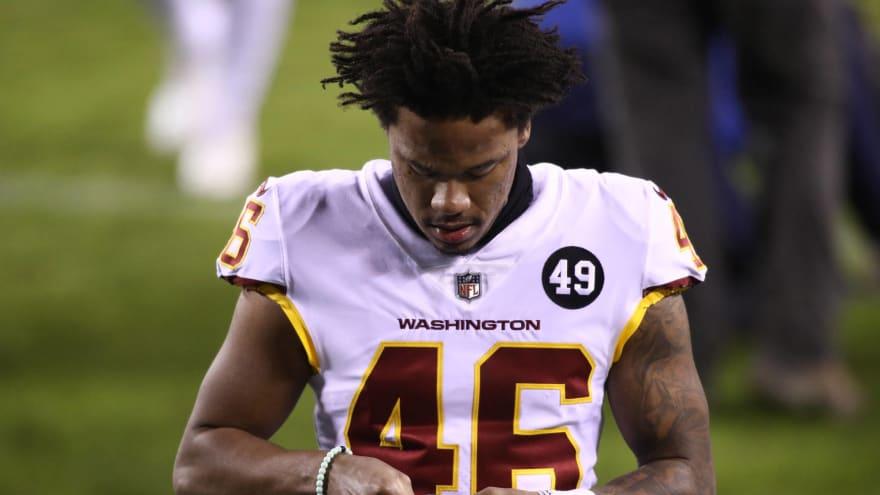 Washington Football Team waives TE Thaddeus Moss
