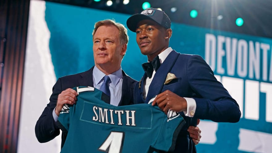 Giants livid Eagles traded up ahead of them to select DeVonta Smith?