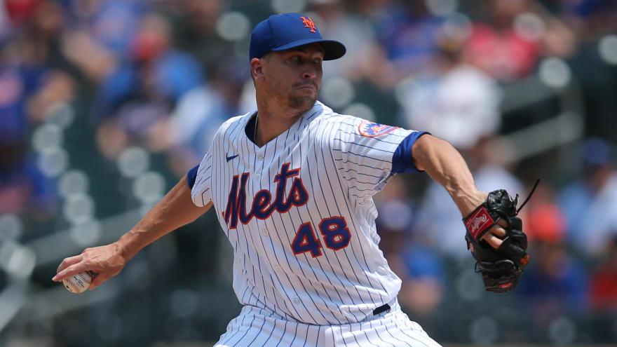 Mets shut down Jacob deGrom for remainder of season