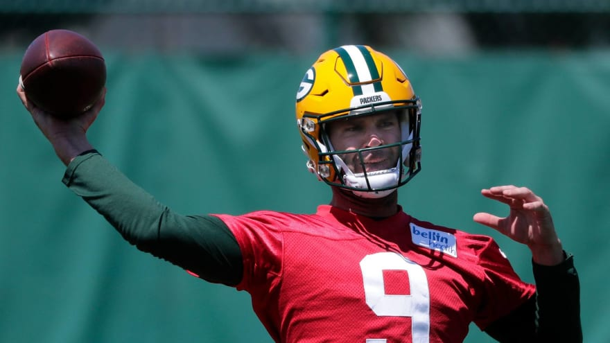 Packers cut Blake Bortles after Aaron Rodgers reports to training camp