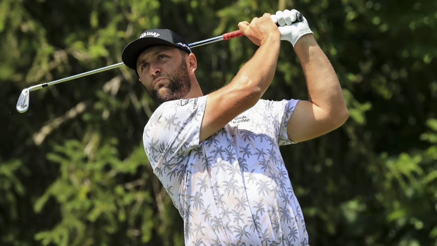 Memorial leader Jon Rahm forced out by positive COVID-19 test