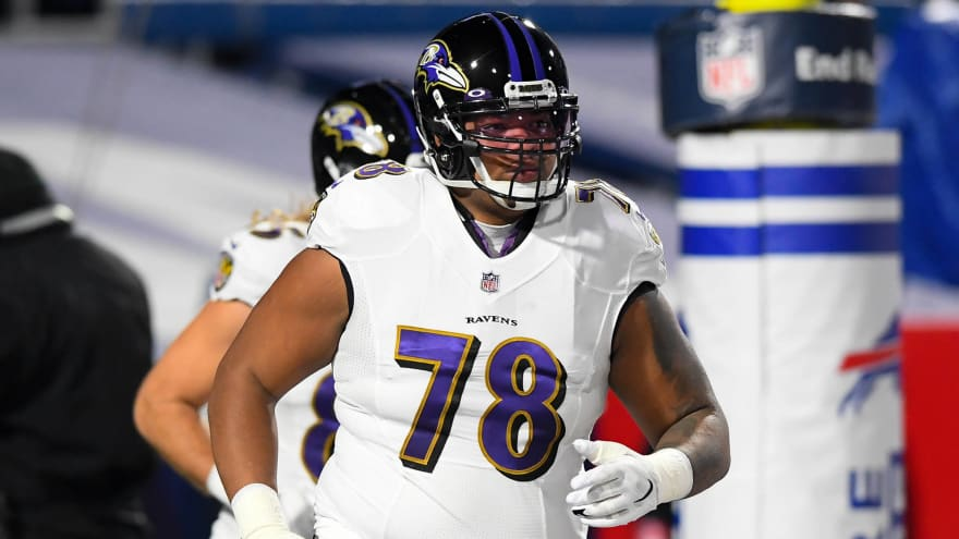 Ravens Pro Bowl OT Orlando Brown wants trade to play LT?