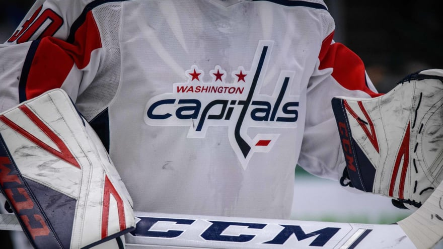 Capitals announce jersey ad deal for 2022-23 season