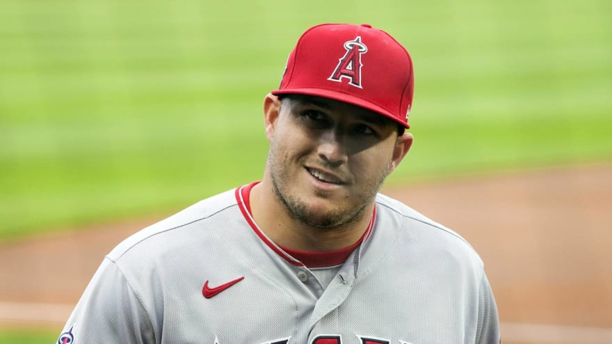 Mike Trout had cool gesture for Angels fan in Kansas City