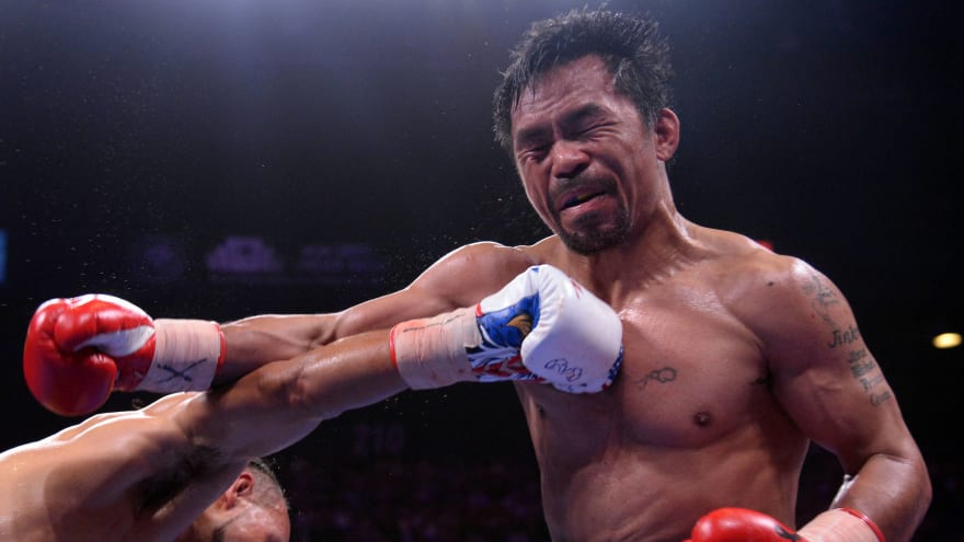 Manny Pacquiao being sued for breach of contract