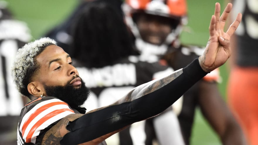 Browns willing to trade Odell Beckham Jr.; here are three potential destinations