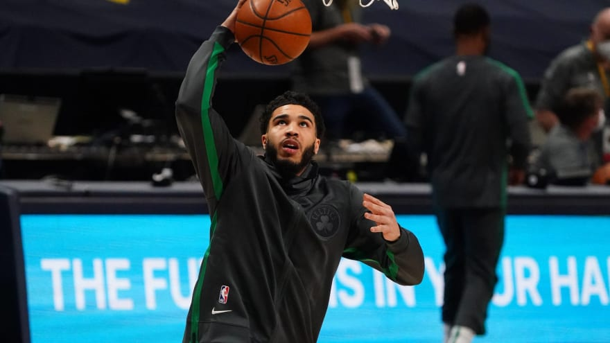 Tatum uses inhaler before games after COVID bout