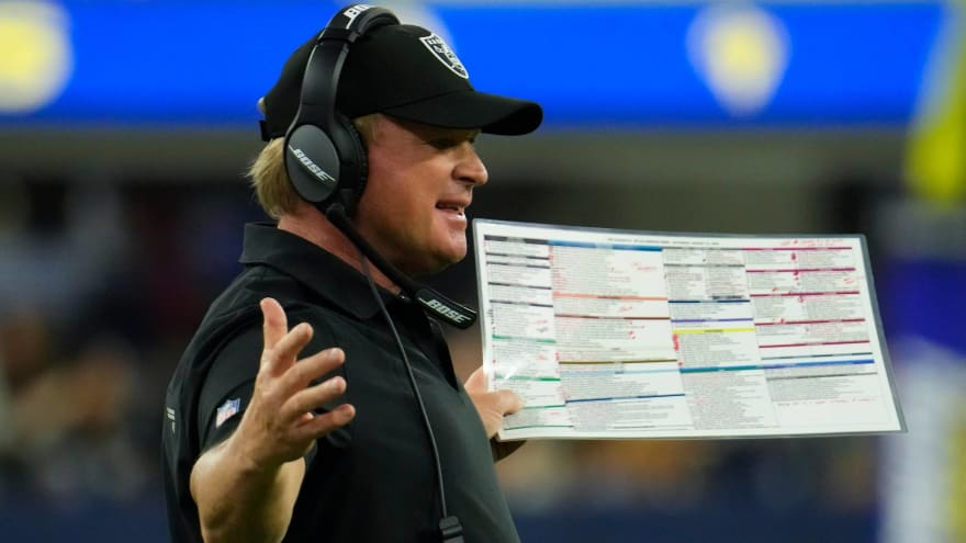Jon Gruden emails revealed: He used gay slur and more