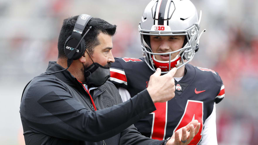 Ohio State got a sideline warning during spring game