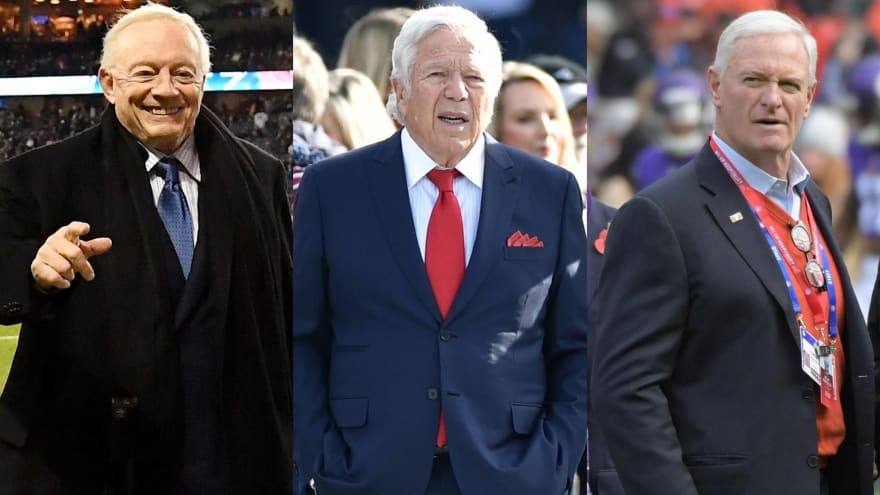 Ranking the current NFL owners by win percentage