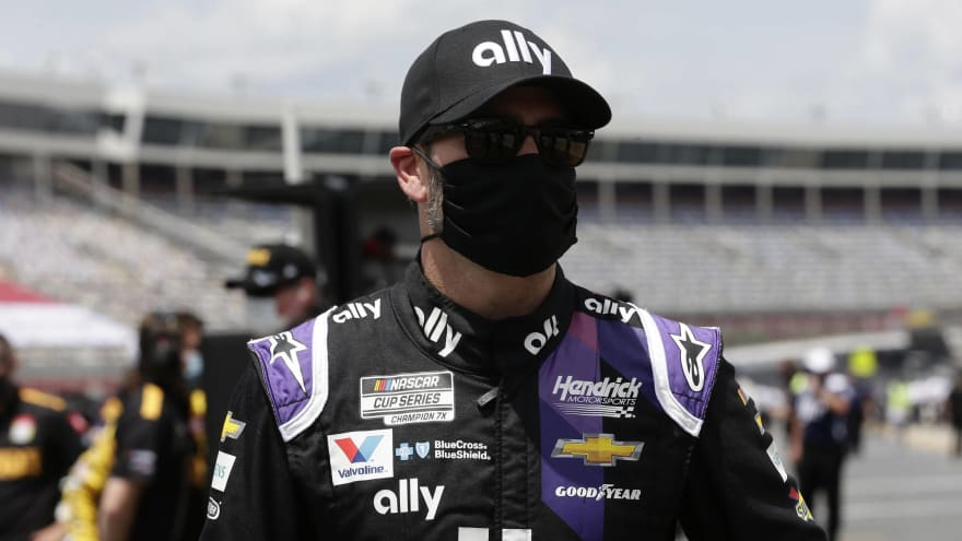 Jimmie Johnson cleared to return for Kentucky Speedway after testing positive for COVID-19