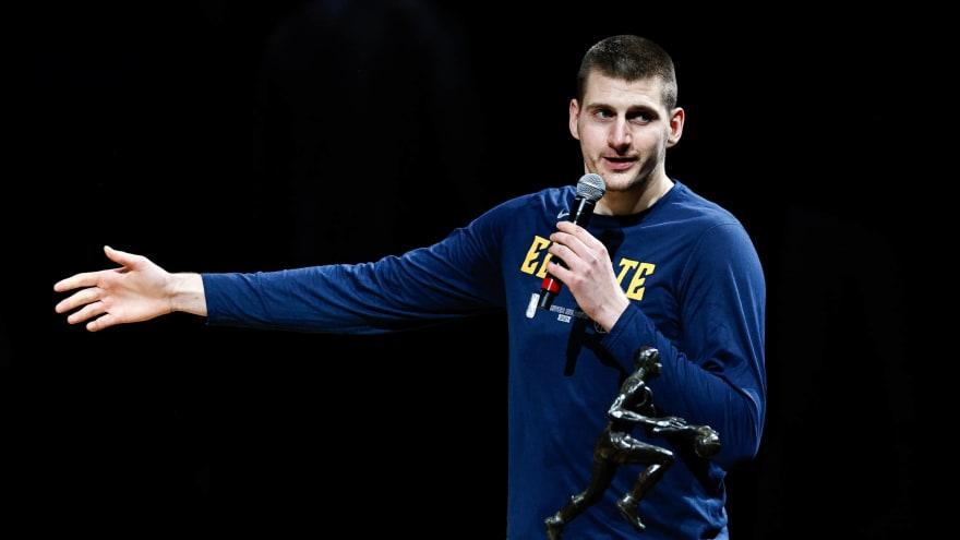 Watch: Nikola Jokic's MVP speech was hilariously to the point
