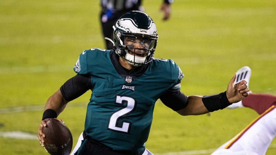 Eagles coach Nick Sirianni says Jalen Hurts is 'relentless' in pursuit of starting QB job