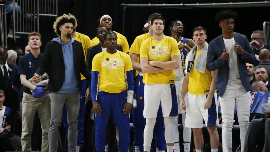 Anonymous Pacers player contemplating opting out of NBA restart