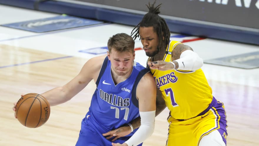 Lakers' Ben McLemore uninjured in scary postgame car accident ...