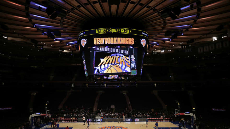 Knicks reportedly interested in trading up in NBA draft