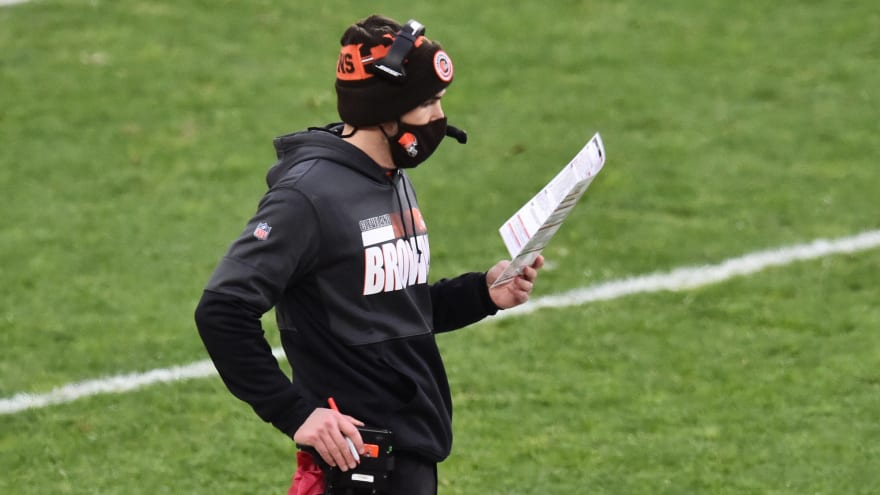 Browns' Stefanski, four others tests positive for COVID-19