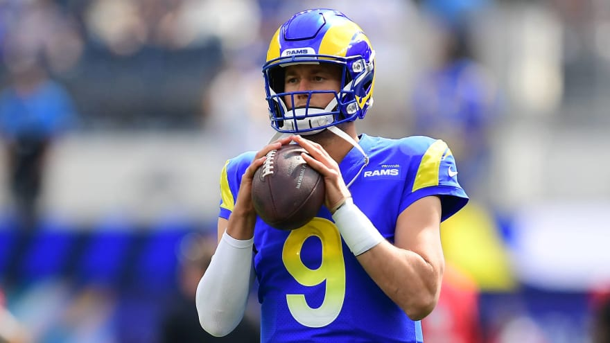Matthew Stafford, Jared Goff betting preview: Detroit Lions At Los Angeles Rams Week 7