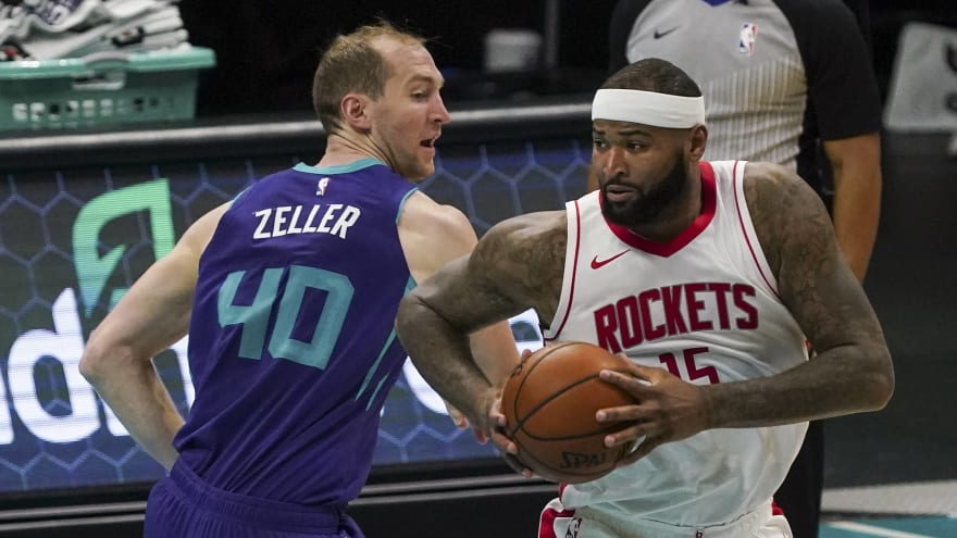 Rockets officially waive DeMarcus Cousins