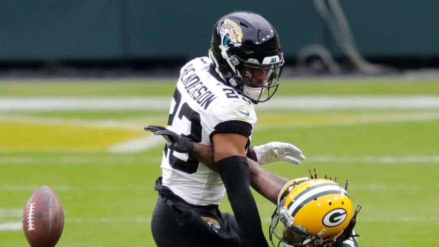 Jaguars trade CB C.J. Henderson to Panthers