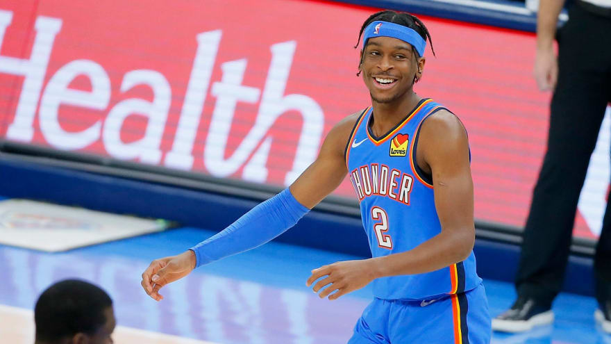 Shai Gilgeous-Alexander, OKC agree to five-year max extension