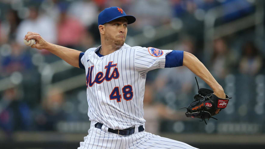Mets' Jacob deGrom shut down for 'few days' with lat inflammation