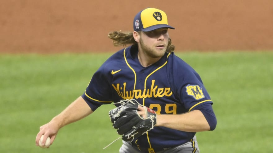 Corbin Burnes pulled from no-hitter after career-high 115 pitches
