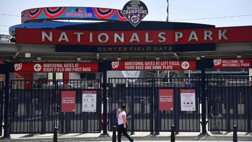 Nationals-Phillies game postponed due to Nats' COVID outbreak