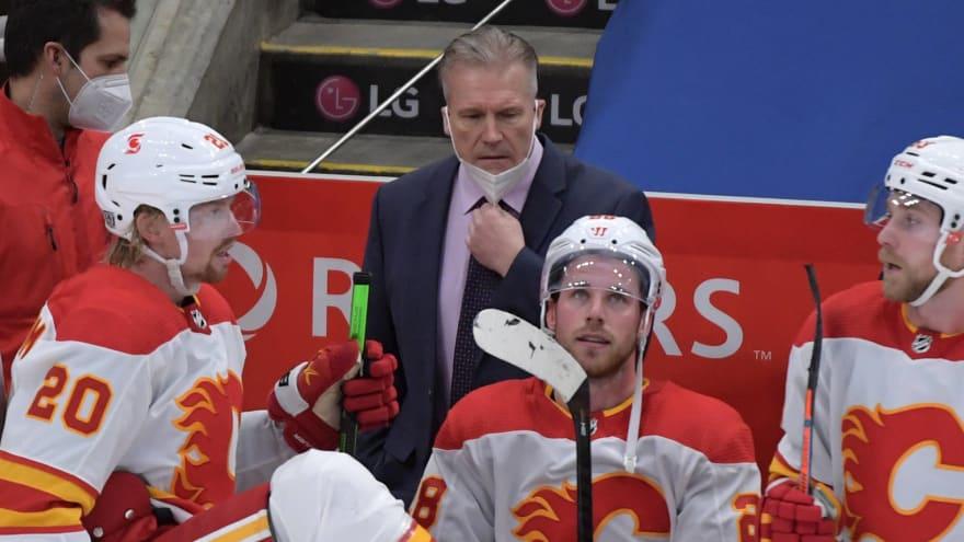 Calgary Flames fire head coach Geoff Ward
