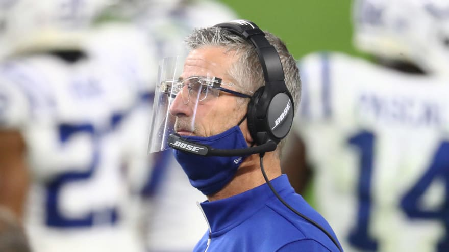 Reich consulted Peyton Manning about Colts' QB search
