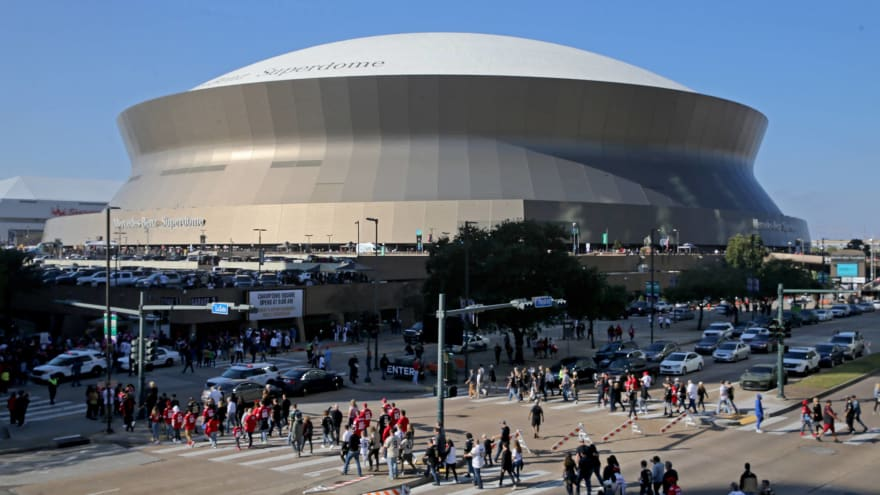 Saints' Caesars Superdome structurally OK after roof catches fire