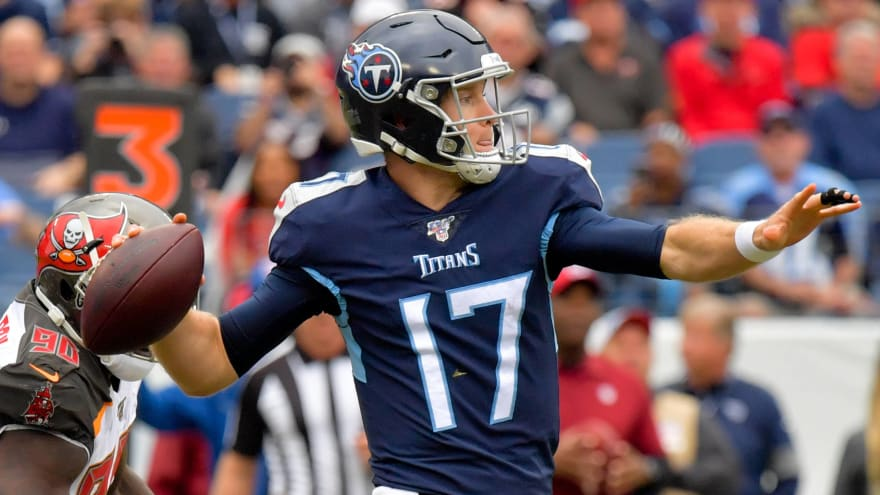 Numbers don't lie: Tannehill turns Titans into playoff threat