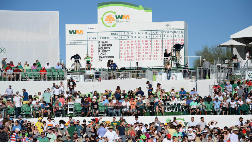 Phoenix Open reduces crowd to fewer than 5K fans per day