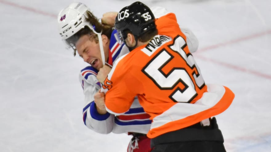 Flyers' Samuel Morin fined for unsportsmanlike conduct
