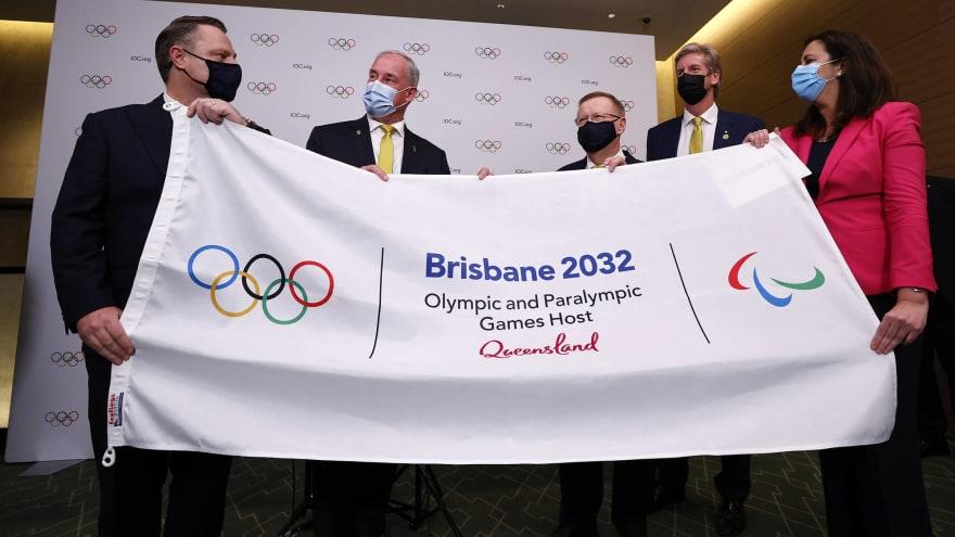 Brisbane announced as host of 2032 Olympics
